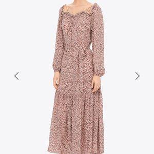 NWT Tory Burch Georgette Maxi Dress